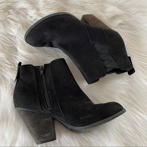 Mix No 6 Black Ankle Booties